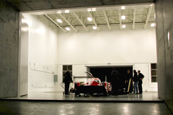 Teaser of the Nissan GT-R LM