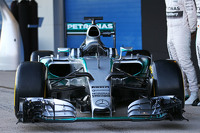 The Mercedes AMG F1 W06 is unveiled