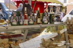 Food market in Ajaccio