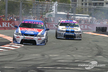 Glenn Seton leads Mark Winterbottom