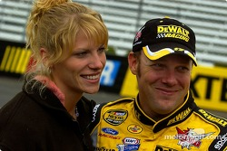 Matt Kenseth with wife Katie