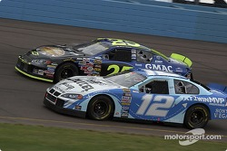 Ryan Newman and Brian Vickers
