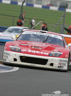 #62 Barron Connor Racing Ferrari 575 Maranello: Mike Hezemans, Jean-Denis Deletraz