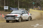 #42 - Panos Simatos and Matthew Voltsis, 1986 Audi 4000 Q, Open
