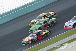 Jamie McMurray, Bobby Labonte and Scott Wimmer