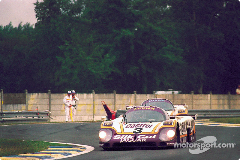 #3 Silk Cut Jaguar Jaguar XJR-9: John Watson, Raul Boesel, Henri Pescarolo