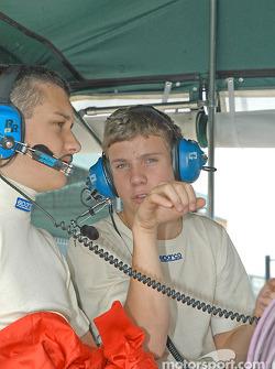 Brad Coleman and Adrian Carrio