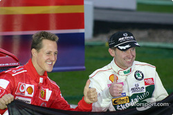 Team Germany: Michael Schumacher and Armin Schwarz