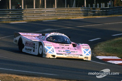 #9 Joest Racing Porsche 962C: Bob Wollek, Hans Stuck