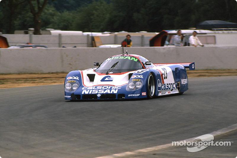#23 Nissan Motorsport Nissan R89C: Masahiro Hasemi, Kazuyoshi Hoshino, Toshio Suzuki