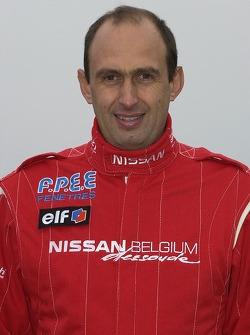 Nissan Dessoude team presentation: Grégoire de Mévius