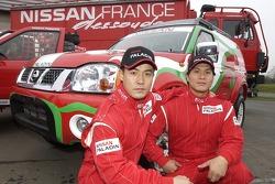 Nissan Dessoude team presentation: Zhou Yong and Xu Lang