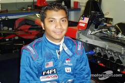 Young British F3 rising talent Fairuz Fauzy will join triple DAMS Team for the 2005 GP2 Series