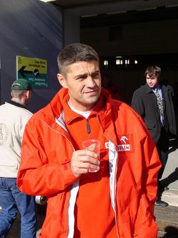 Orlen Team Ralliart's Krzysztof Holowczyc