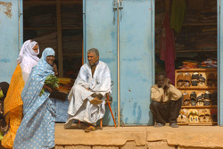 Scene in Mauritania