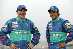 Jacques Villeneuve and Felipe Massa