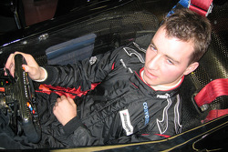 Nicky Pastorelli seat fitting at Team Minardi