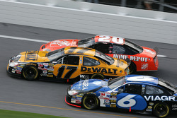 Tony Stewart, Matt Kenseth and Mark Martin