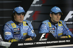 Saturday FIA press conference: Fernando Alonso and Giancarlo Fisichella