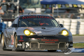 #45 Flying Lizard Motorsports Porsche 911 GT3 RSR: Johannes Van Overbeek, Jon Fogarty, Darren Law