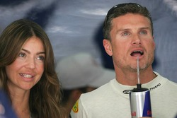 David Coulthard and girlfriend Simone