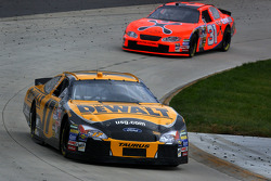 Matt Kenseth and Jeff Burton