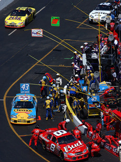Dale Earnhardt Jr., Jeff Green, Hermie Sadler, Ryan Newman