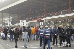 Scene on the grid before the start of the 2005 1000km of Spa