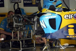 Gearbox of Renault F1