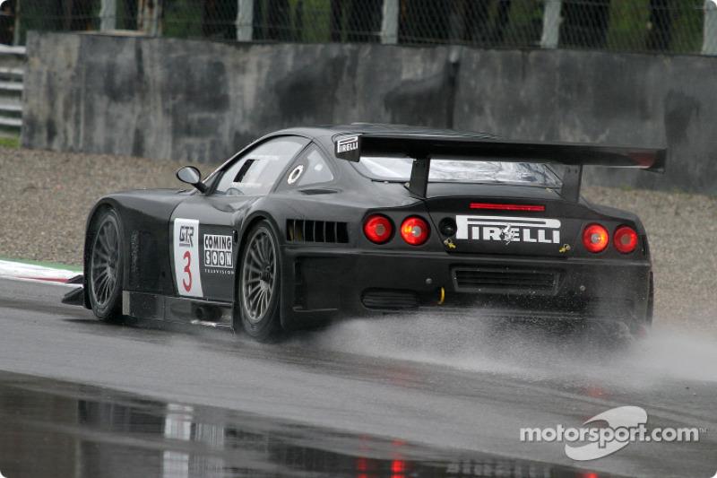 #3 G.P.C. Sport Ferrari 575 Maranello GTC: Jean-Philippe Belloc, Jaime Melo