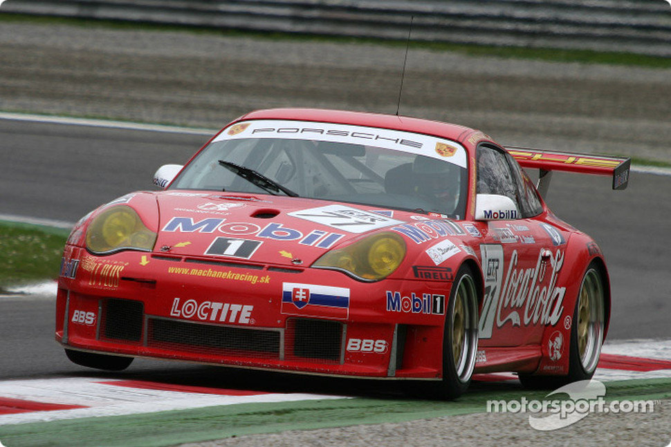 #71 Machanek Racing Porsche 996 GT3 RSR: Rudolf Machanek, Andy Studenic
