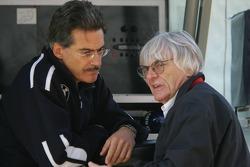 Dr. Mario Theissen and Bernie Ecclestone