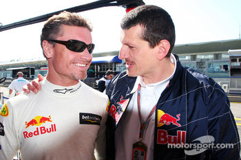 David Coulthard and Guenther Steiner