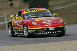 #42 Team Sahlen Porsche 996: Jim Bosler, Joe Nonnamaker, Joe Sahlen