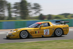 #6 GLPK-Carsport Corvette C5R: Anthony Kumpen, Mike Hezemans, Bert Longin