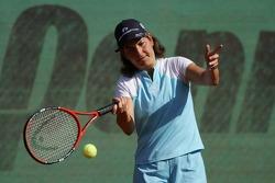 F1 Tennis Charity for the Northampton Intensive Care Unit at the Sanchez-Casal Open Tennis Academy: Arantxa Sanchez