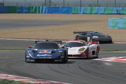 #16 JMB Racing Maserati MC 12 GT1: Chris Buncombe, Philipp Peter, Roman Rusinov, #101 Shaun Balfe Mosler MT900 R: Shaun Balfe, Jamie Derbyshire