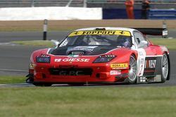 #2 G.P.C. Sport Ferrari 575 Maranello GTC: Andrea Piccini, Jean-Denis Deletraz