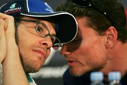 Wednesday FIA press conference: Jacques Villeneuve and David Coulthard