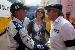 Nick Heidfeld and Sir Jackie Stewart