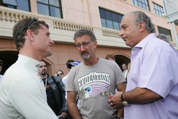 David Coulthard, Eddie Jordan and Philip Green