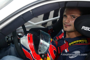 Vitantonio Liuzzi takes guests around the track