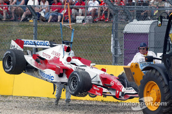 Ralf Schumacher out
