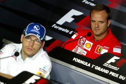 Thursday FIA press conference: Jacques Villeneuve and Rubens Barrichello