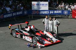 #32 Intersport Racing Lola AER: Gregor Fisken, Liz Halliday, Sam Hancock