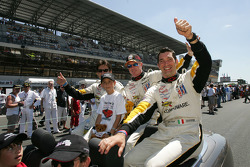 Ron Fellows, Johnny O'Connell and Max Papis