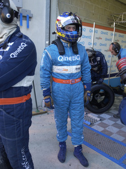 John Stack ready for pitstop