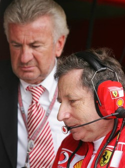 Willi Weber and Jean Todt