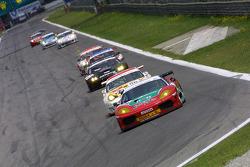 Start: #99 GPC Sport Ferrari 360 Modena: Gabrio Rosa, Luca Drudi, Fabio Babini