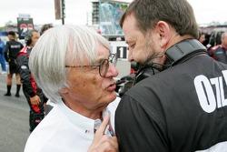 Bernie Ecclestone and Paul Stoddart
